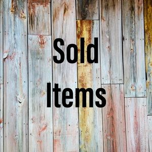 Category for sold items
